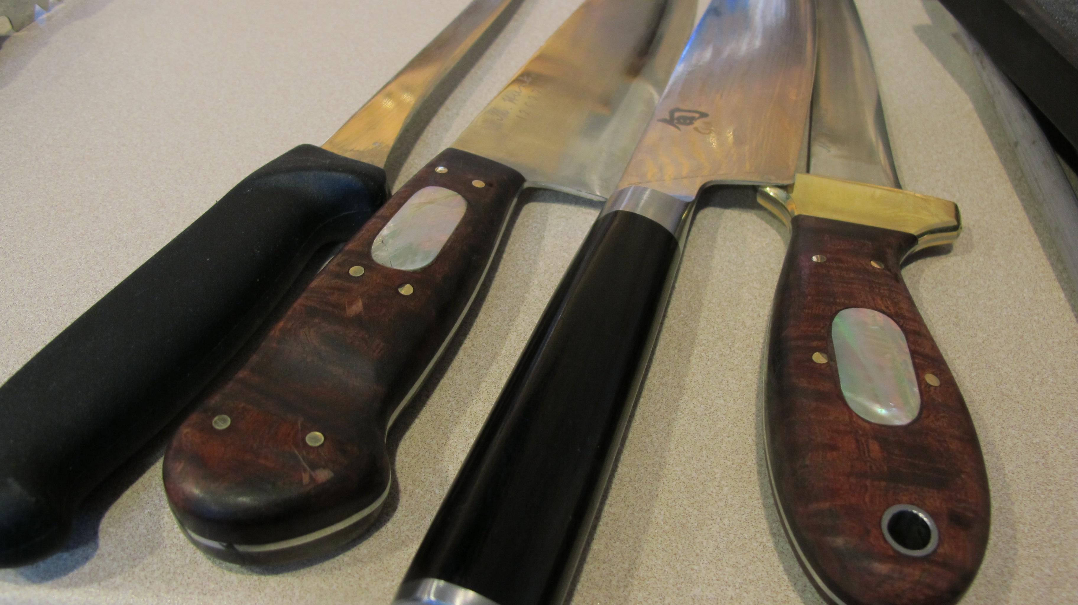 Handmade Mike Hunt Knives