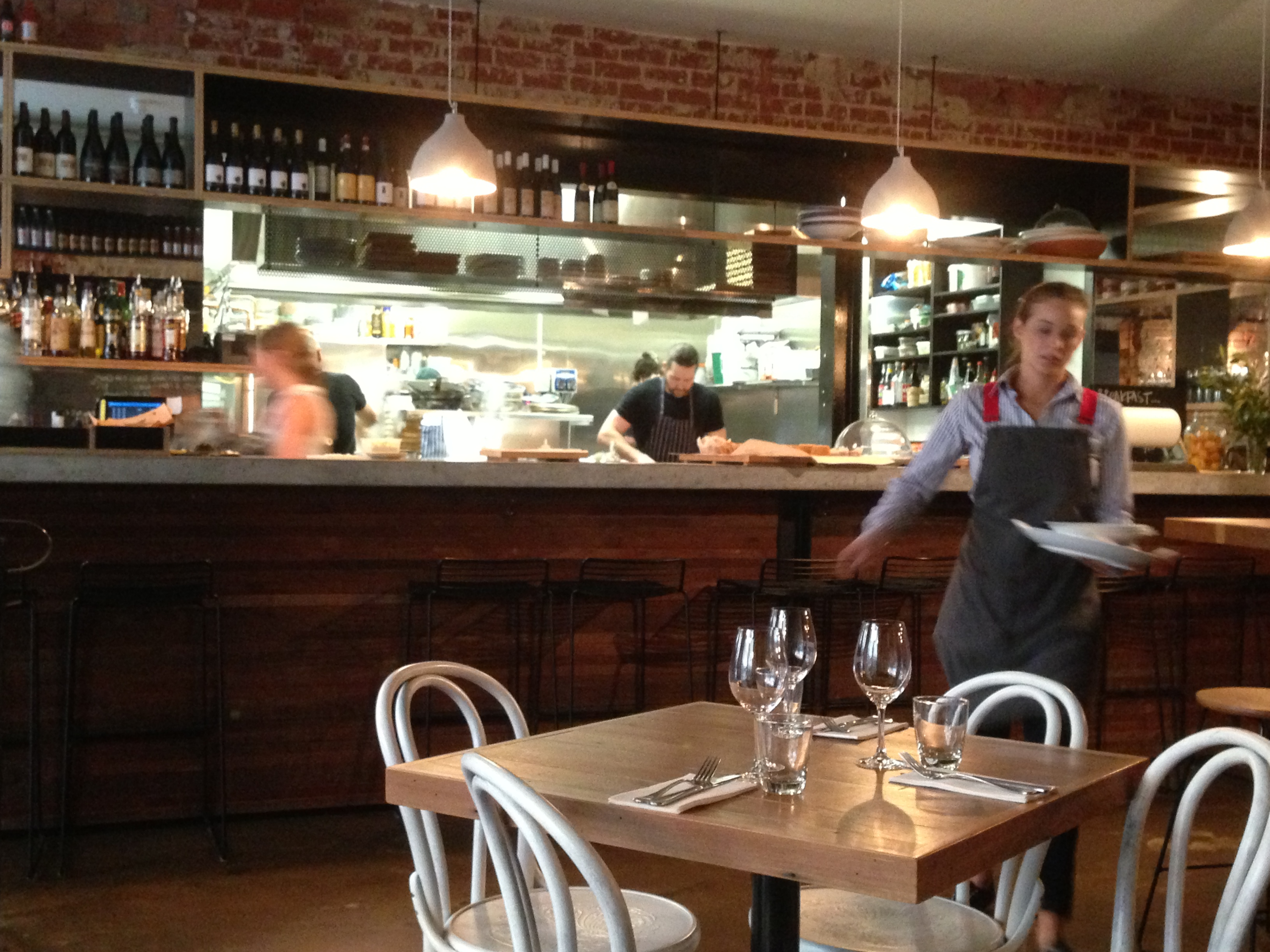 Peel St restaurant, Adelaide