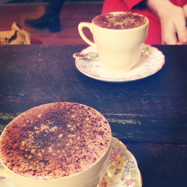 Hot Chocolate at The House of Donkey