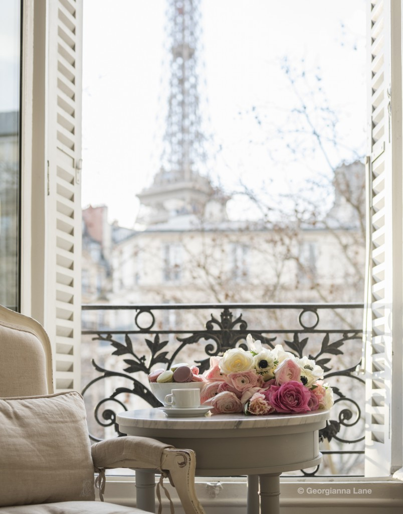 Paris Perfect Apartment photographed by Georgianna Lane